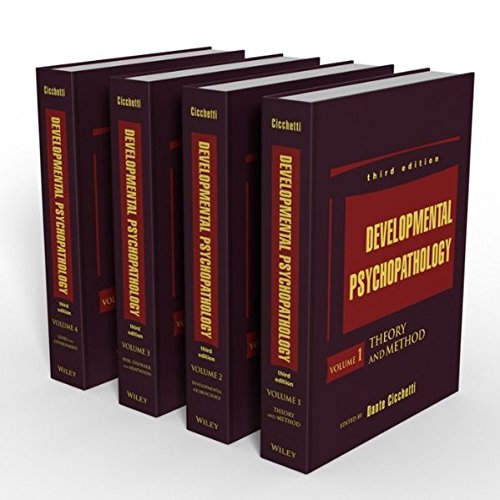Developmental Psychopathology, , 4 Volume Set