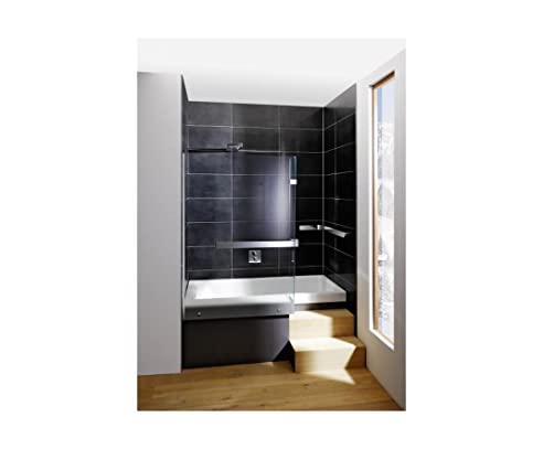 Repabad Stairway Dusch Badewanne 170 Nische mit Glaswand ... | {Duschbadewanne 49}