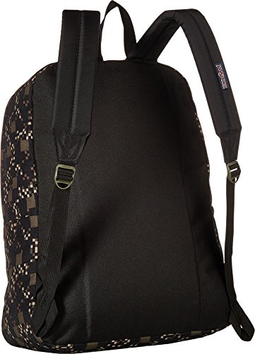 Adult Jansport Multi Unisex Black Superbreak Green Machine Label Backpack PwP8rxq5