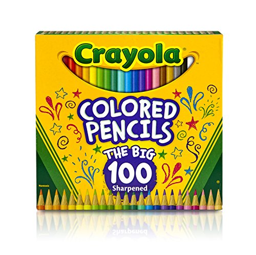 Crayola Colored Pencils Pre sharpened Coloring product image
