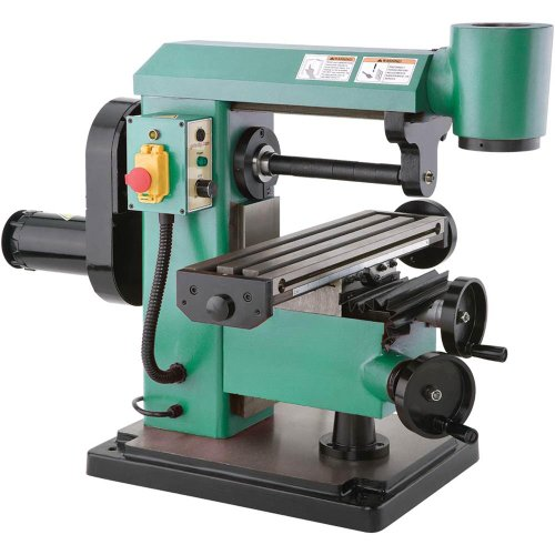 Grizzly G0727 Mini Horizontal/Vertical Mill (Vertical Milling Machines compare prices)