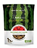 Fruitables Skinny Minis Grain Free Soft Dog Treats Watermelon Flavor 5...