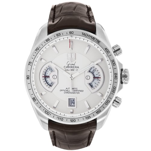 TAG Heuer Men's CAV511B.FC6231 Grand Carrera Chronograph Calibre 17 RS Watch