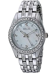 Relic Womens Quartz Stainless Steel and Alloy Casual Watch, Color Silver-Toned (Model: ZR34420)