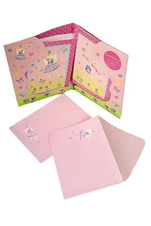 Lucy Locket Set de Papeterie Fe Fuschia Papier Lettre pour
