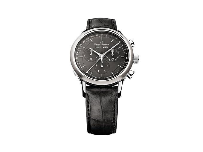 MAURICE LACROIX LES CLASSIQUES relojes hombre LC1008-SS001-330-1: Maurice Lacroix: Amazon.es: Relojes