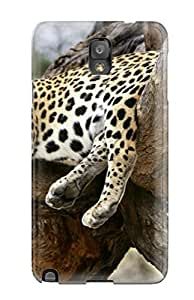 New Sleeping Leopard Tpu Skin Case Compatible With Galaxy Note 3