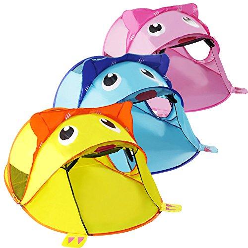 Junjiagao Babyspiel Zelt Outdoor & Indoor Spielzeug Kinder Zelt Tiger Spielzeug Kinder Zelt Faltbar