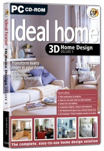 Gsp Ideal Home 3D Home Design 5 Deluxe (PC)