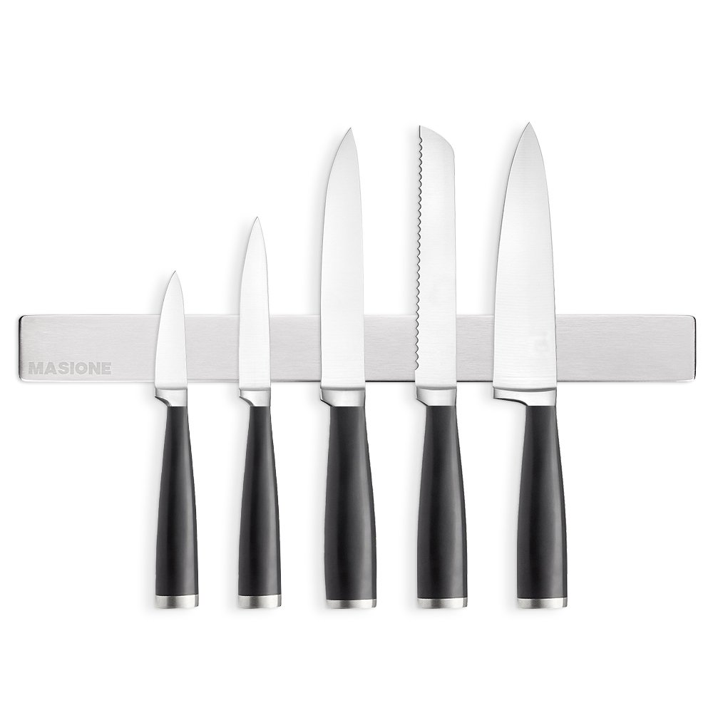 Magnetic Knife Holder Stainless Steel Masione 16 Inch Magnetic Knife Bar Magnetic Knife Strip Knife Rack Strip