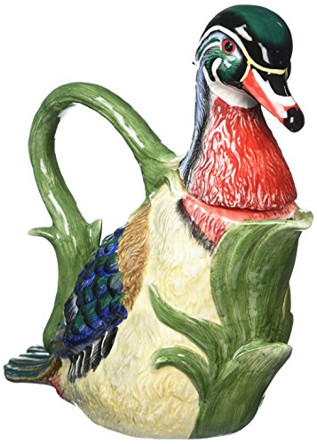 CG 10094 Wood-Duck Themed Teapot Collectible Set
