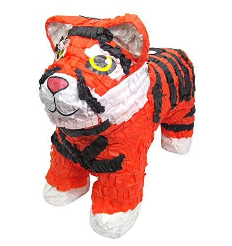 (Pinatas Tiger, Jungle Party Game, Decoration and Photo Prop for Kids)