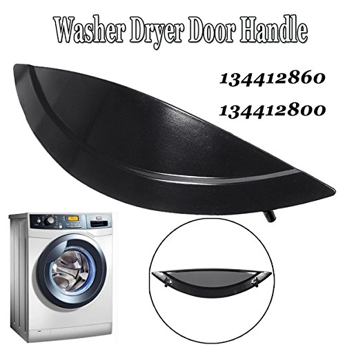 MAYITOP 134412860 Door Handle for Frigidaire Electrolux Kenmore Washer&Dryer PS2330842, AP4315875, AH2330842, EA2330842, 1378569 (Black)