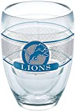 Tervis 1271043 NFL Detroit Lions Select Tumbler with Wrap 9oz Stemless Wine Glass, Clear
