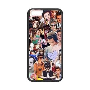 "Lycase(TM) Harry Styles Custom Durable Hard Back Plastic Case, DIY Harry Styles Iphone 6 Plus 5.5"" Case"