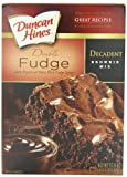 Duncan Hines Decadent Brownie Mix, Double Fudge, 17.6 Ounce (Pack of 6) by Duncan Hines