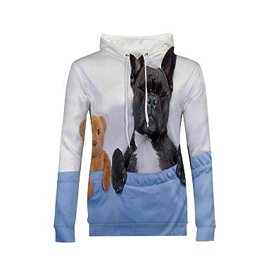 de965bd094432 Amazon.com: Basic Lightweight Pullover Hoodie Sweatshirt for Women ...