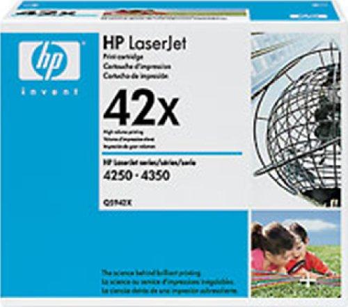 HP 42X (Q5942X) Black High Yield Original Toner - Printer 4200tn Hp