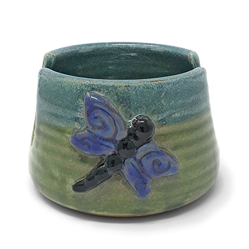 Purple Pottery - MudWorks Pottery Dragonfly Sponge Holder