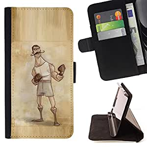 Jordan Colourful Shop - Boxer Retro Vintage Manly Man Gloves For HTC One M9 - Leather Case Absorci???¡¯???€????€?????????&