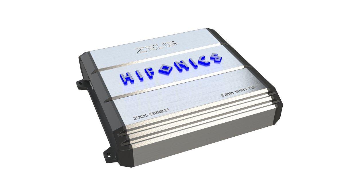 Hifonics ZXX-500.2 Zeus 2 Channel Bridgeable Amplifier