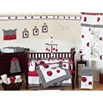 Sweet-Jojo-Designs-Polka-Dot-Ladybug-Collection-Crib-Bumper
