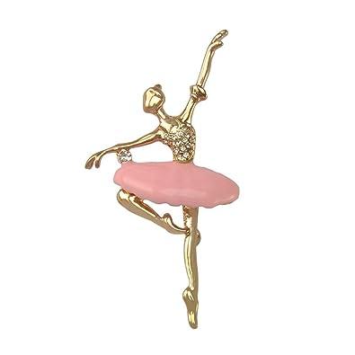 MagiDeal Bolsa de Ballet Bailarina Broche Regalo Gorro de ...