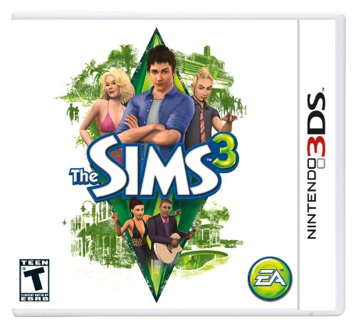 The Sims 3 - Nintendo 3DS (Sims Pets 3 3ds)