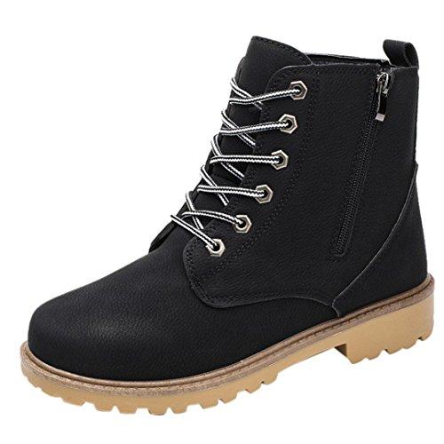 Trim Platform Pump (HOT Sale ,AIMTOPPY Men Low Ankle Trim Flat Ankle Spring Autumn Leather Boots Casual Martin Shoes (US:10, Black))