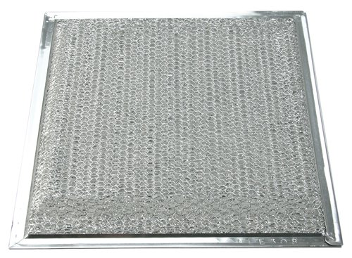 Air King RF-35S Replacement Range Hood Grease Filter for Designer Series Hoods, Silver Finish (Range Hood Grease Filter)