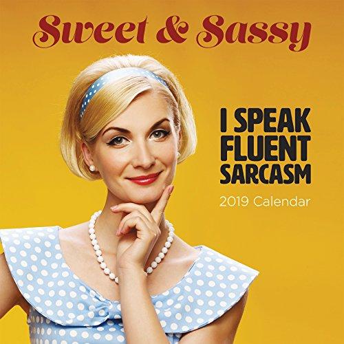 2019 Sweet & Sassy Wall Calendar (Erin Calendar Smith)