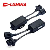 D-LUMINA PAIR LED Conversion Kit Headlight Canbus Error Free Anti Flickering Resistor Decoder - H1 (H3)