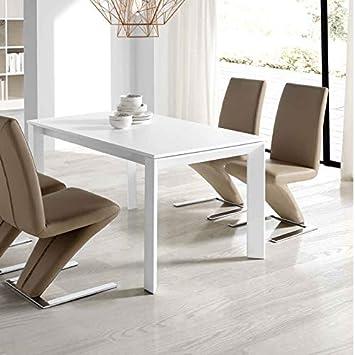 Esstisch ausziehbar design  M-034 Esstisch, ausziehbar, Design Asteria, Weiß: Amazon.de: Küche ...