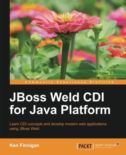 JBoss Weld CDI for Java Platform by Ken Finnigan, Publisher : Packt Publishing