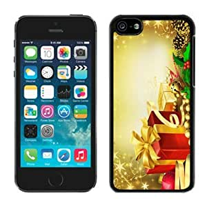 MMZ DIY PHONE CASEBest Buy Design ipod touch 5 TPU Case Merry Christmas Black ipod touch 5 Case 42