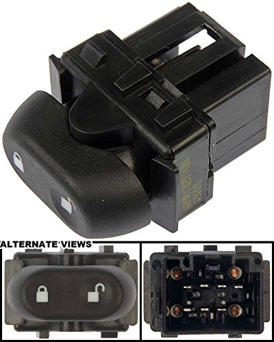 Crown Victoria Power Door Lock (APDTY 012436 Power Door Lock Switch Single Button Fits Front Left (Driver Side Front) 04-08 Ford Crown Victoria & Mercury Grand Marquis (Replaces 4W7Z-14028-AAA, 3W7Z-14028-AAA))