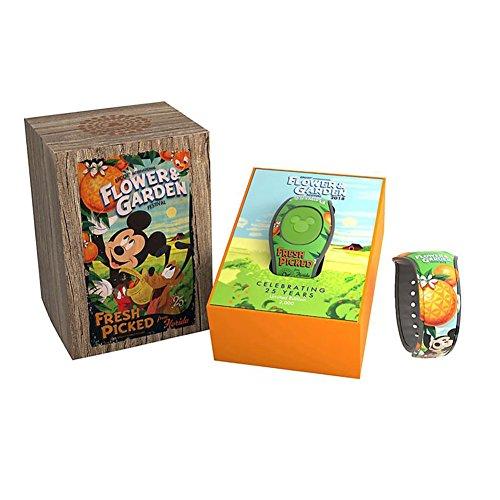Disney Parks MagicBand 2 Epcot Flower & Garden Festival 2018 Mickey Orange Bird - Exclusive Magic