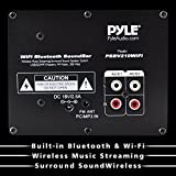 Pyle WiFi Sound Bar Speakers - Sound Base