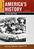 img - for America's History, Value Edition, Volume 2 8e & LaunchPad for America's History Volume II & America: A Concise History, Volume II 6e (Six Month Access) book / textbook / text book