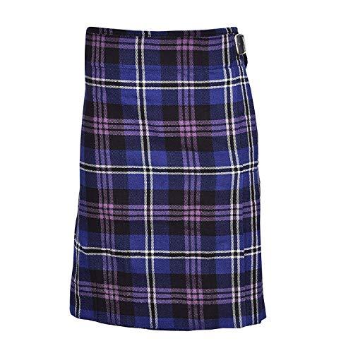 (Heritage Of Scotland Men's 5 Yard Scottish Kilts Tartan Kilt 13oz Highland Casual Kilt (38
