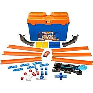 Hot wheels Track Builder Stunt Box, Multi Color