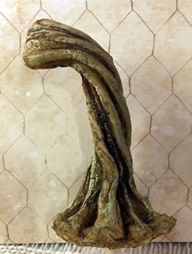 ONE (1) Medium Pumpkin Vine Stem Stems Faux for Velvet Fabric Pumpkins DIY Craft Element Handcrafted in USA from Rocky Mountain Wax Works