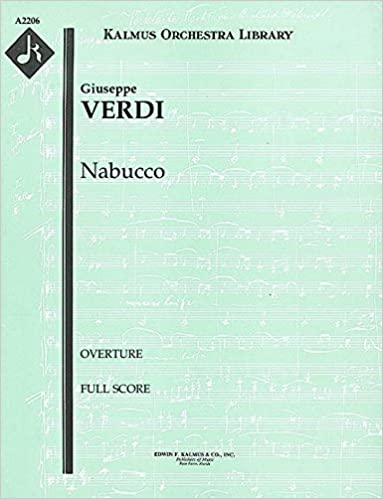 ??NEW?? Nabucco (Overture): Full Score [A2206]. Robotics brand Bradford tourist movil letter Meyers really