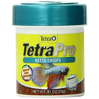 TetraPro Betta Crisps, Fish Food with Natural Color Enhancer
