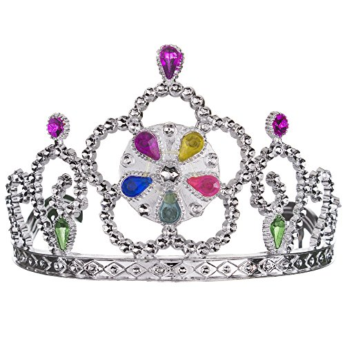 LED Princess Tiaras - 12 Pack -