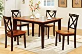 Poundex 5 Piece Dining Set