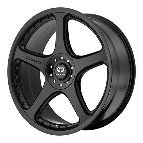 20 Inch 20x9.5 LORENZO wheels WL28 Satin Black wheels rims