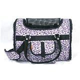 Prefer Pets Light Weight Soft Siided Pet Carrier, Purple Mosaic, My Pet Supplies