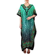 Miss Lavish Kaftan Tunic Kimono Dress Ladies Summer Women Evening Maxi Party Plus Size 6-24