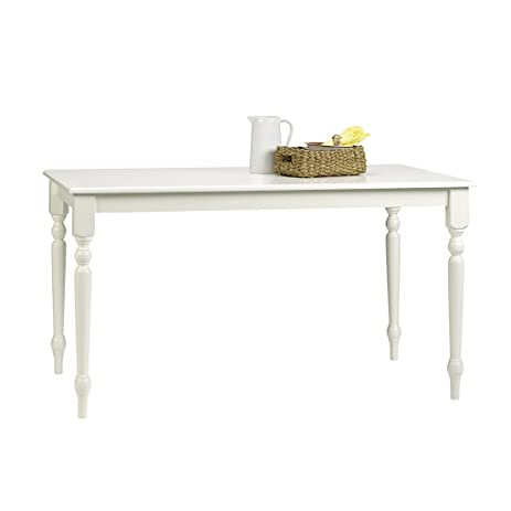 Sauder 416564 White Finish Cottage Road Dining Table